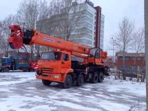 Аренда автокрана 40 тонн 44 метра
